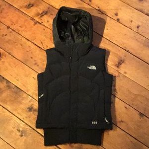 The north face vest.